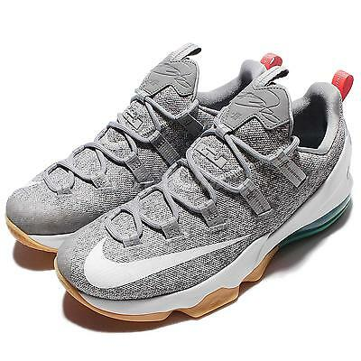 Nike Lebron XIII Low EP 13 James Summer Pack Stealth Grey Miami Mens 831926-016