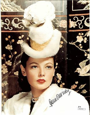 Gene Tierney Actress Deceased Autograph Jsa Authenticated #n45549