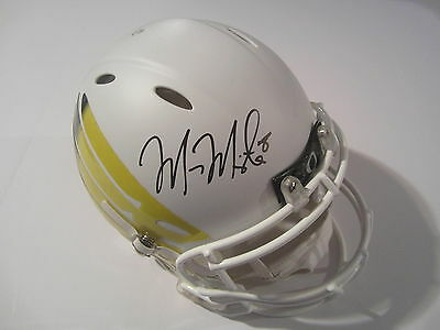 Marcus Mariotta Oregon Ducks Signed Autographed Full Size Helmet PSA DNA COA CAS