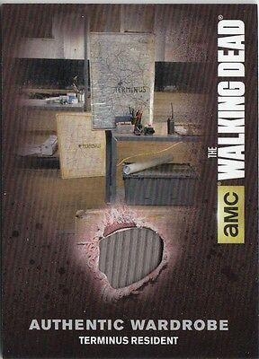 The Walking Dead Season 4 Part 2 - M60 Terminus Resident Wardrobe Card (1)