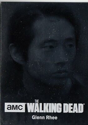 The Walking Dead Season 4 Part 2 - C10 Character Bios Silver Foil Parallel Card