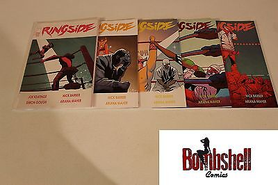 Ringside 1 2 3 4 5 Complete Comic Lot Run Set Image 1st Print Collection