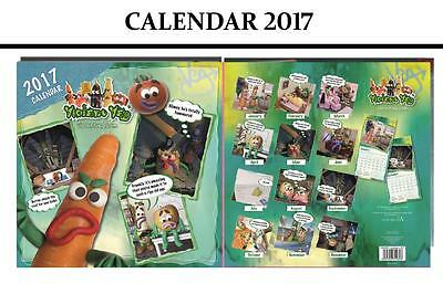Violent Veg Official 2017 Calendar + Violent Veg Fridge Magnet