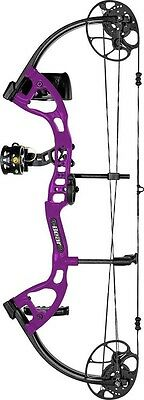 New 2016 Bear Archery Cruzer Lite RTH 5-45# Right Hand Purple Youth Bow Package
