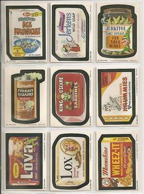 1980 Topps Wacky Packages Ice Krunkles Complete 4th Series 4 66 Card Set