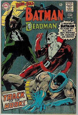 Brave and the Bold 79 (1968) VF- Early Deadman!