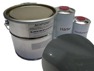 7 Liter Set 2K Car paint VW/Audi LY7C Nardo gray no clear coat Lackpoint Tuning