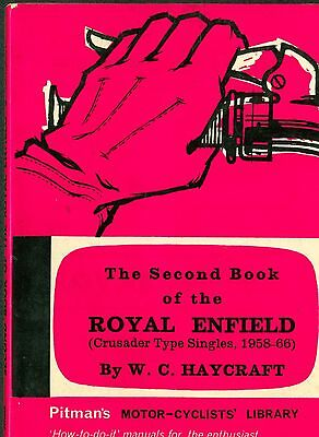Royal Enfield Crusader type singles 1958-1966 motorcycle manual