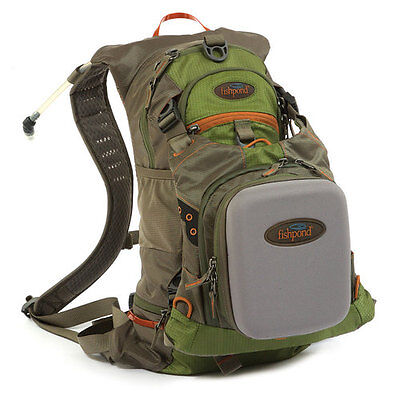 New Fishpond Oxbow Fly Fishing Backpack With Chestpack Free Waterlog Bladder