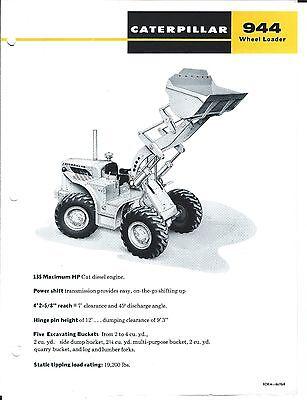 Equipment Brochure - Caterpillar - 944 - Wheel Loader  (E3244)