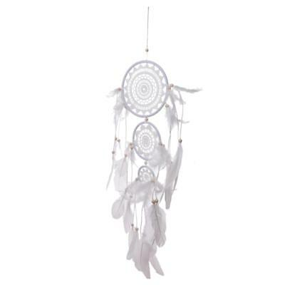 Dream Catcher Wall Hanging Home Decoration Feathers Ornament Handmade #17