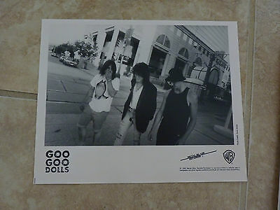 Goo Goo Dolls 1990 8x10 B&W Publicity Picture Promo Photo
