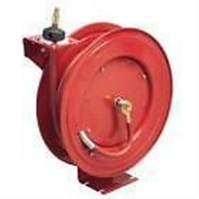 "Lincoln Lubrication 83754 - 1/2"" X 50 Ft. Retractable Air Hose Reel"