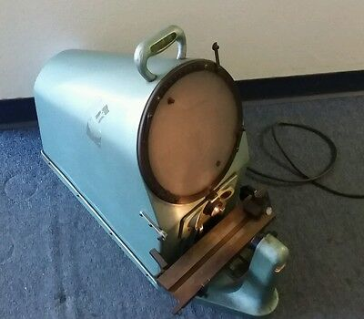 """10""""  RANKIN BROTHERS Bench Top Optical Comparator Model 1000-10X"""