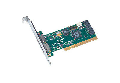 PROMISE SATA300 4Ch SATA Controller PCI TX4302  2x Int 2x Ext OEM Packaging [3]