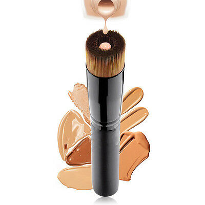 Pro Makeup Cosmetic Tool Soft Contour Face Powder Foundation Blush Liquid Brush