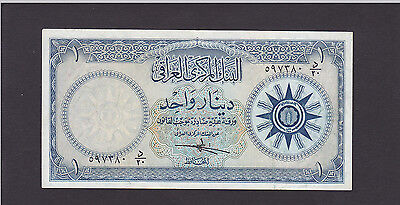 Iraq 1 Dinar  Nd(1959) Issue P.53 In Xf Cond..