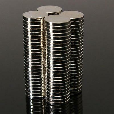 50/100PCS Chic Super Strong Round Disc 10x1mm 10x2mm Magnets Earth Neodymium N35