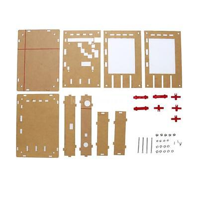 """Set of Acrylic DIY Case Cover Shell for DSO138 2.4"""" TFT Oscilloscope Accessory"""