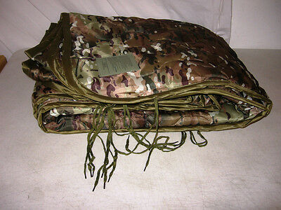 New Multicam Poncho Liner G.I. Army Style Woobie Blanket-FREE DOMESTIC SHIPPING!