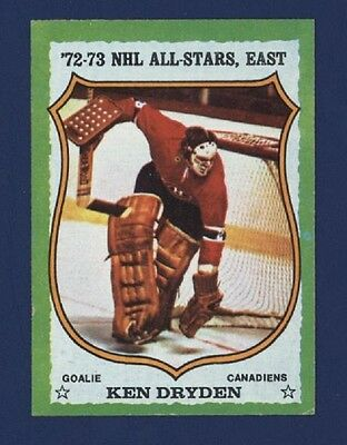 1973-74 Topps KEN DRYDEN #10 *All-Star* Exmt Montreal Canadiens H.O.F. !!