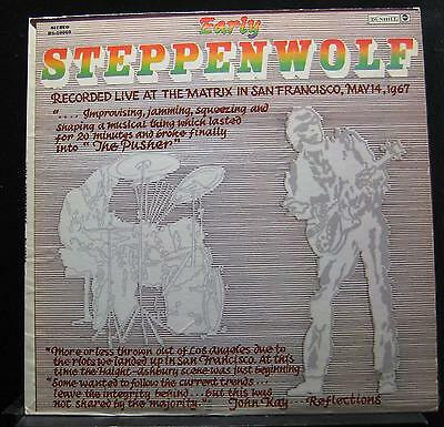 Steppenwolf - Early Steppenwolf LP Mint- DS 50060 Black Lbl 1969 Vinyl Record