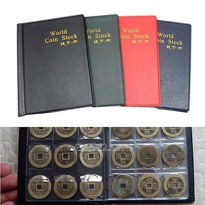 120 Collecting Coin Penny Money Pocket Storage Album Book Holder Case Folder New
