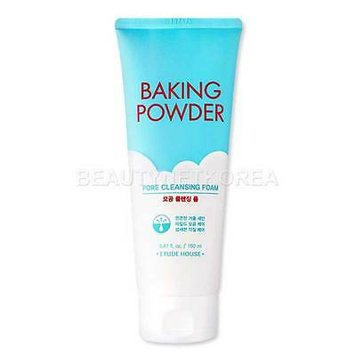 [ETUDE HOUSE] Baking Powder Pore Cleansing Foam 160ml / 2016 New / Scrub