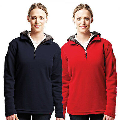 40% OFF RRP Regatta 2016 Womens Micro Zip Neck Fleece TRF562 Thermal Pullover
