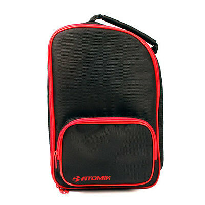 Atomik RC FPV Goggle Protective Storage Carry Case - Red/Black