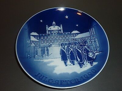 B&G Bing & Grondahl ~ Christmas Plate 1990 ~ Changing of the Guards