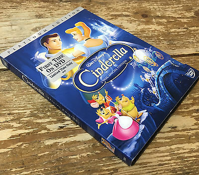 Cinderella DVD 2005 2-Disc Set Special Edition DVD Platinum Collection Disney