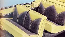 56 Chevy Bel Air Convertible Seat Covers *NEW* 1956 Chevrolet