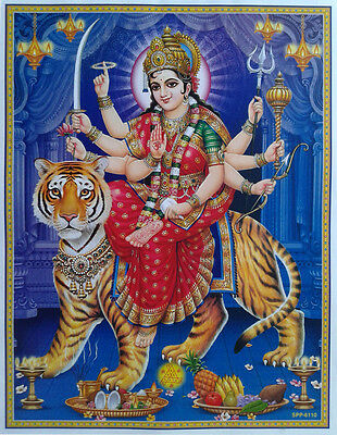 Durga Maa - POSTER (Normal Paper Size: 9x11)