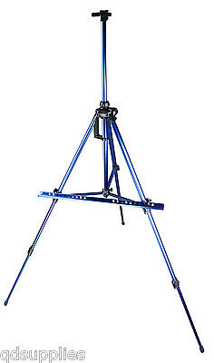Deluxe Metal Artist Tripod Easel 156cm Adjustable Painting Display Field Studio