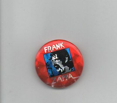 """Frank Zappa Cool Shiny Color Metal 1"""" Round Pinback Pin Button"""