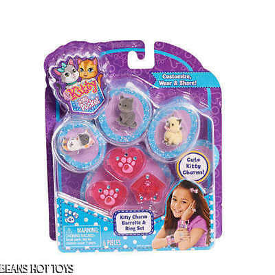 Kitty In My Pocket Charm Jewellery Pack (Assorted Styles, One Supplied)- New