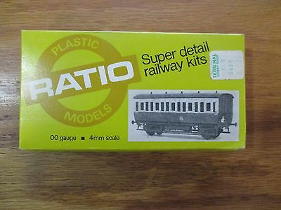 Ratio 5610 G.W.R. All third 00 Gauge 4mm scale w Free ship!