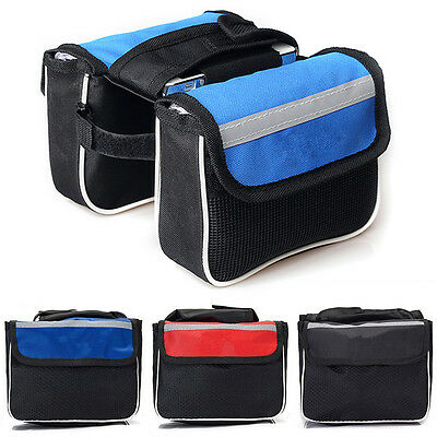 New Bicycle Cycling Bike Frame Front Tube Waterproof Mobile Phone Bag TY