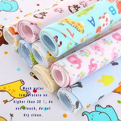Baby Infant Diaper Nappy Urine Mat Kid Waterproof Bedding Changing Cover Pad LG