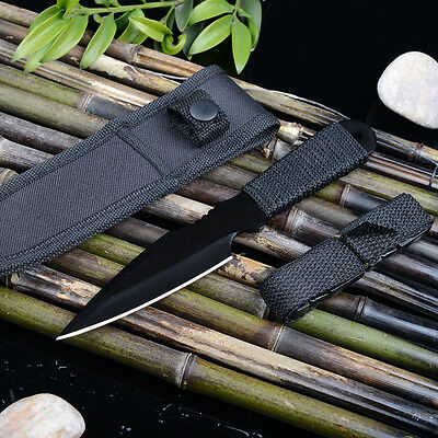 1pcs Stainless Steel Cutter Outdoor Hunting Camping Fishing Scuba Diving Knife