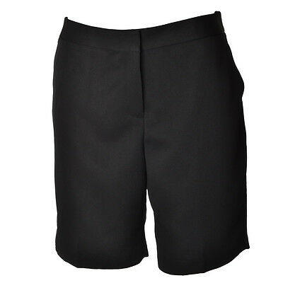 Ashworth Womens Ladies Classic Golf Shorts - Black - 10UK