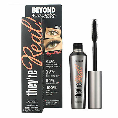 Benefit They're Real Beyond Mascara - Black 8.5G Brand New Eyelash Comestics