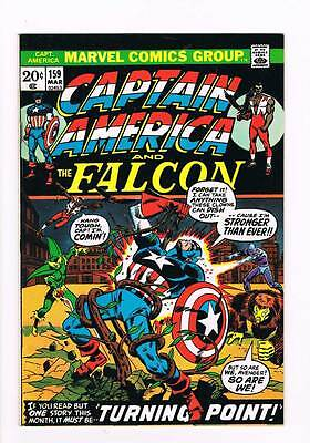Captain America # 159  Turning Point grade 8.0 scarce hot book !!