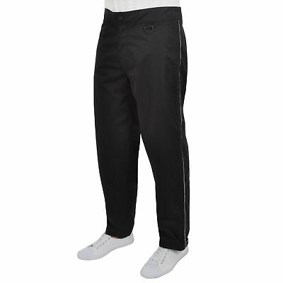 Tenn Mens Waterproof Breathable Cycling Overtrousers Pants - Black - W36-38(XL)