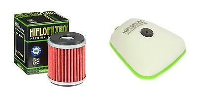HIFLO FILTRO Oil and Air Filter Kit for YAMAHA WR250 F-F,G 3GB 15-16