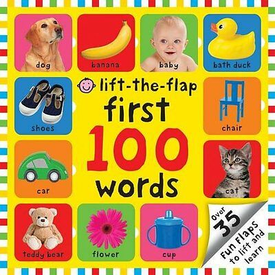 Lift-the Flap First 100 Words Priddy  Roger 9781849159364