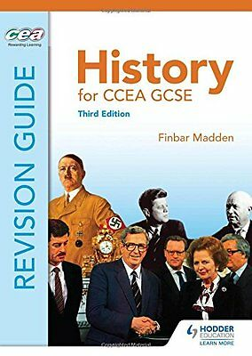 History For Ccea Gcse Revision Guide Madden  Finbar 9781471844638