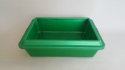 Cat Large Litter Tray Toilet with Rim Great Quality Box Easy to Clean Dog Pet