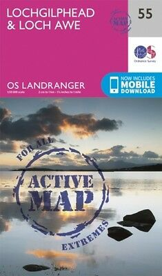 Lochgilphead And Loch Awe Ordnance Survey 9780319473788